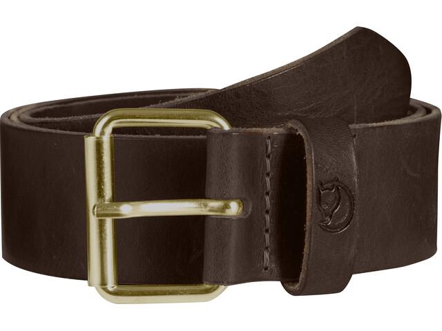 Fjällräven Singi Ceinture 4cm, leather brown